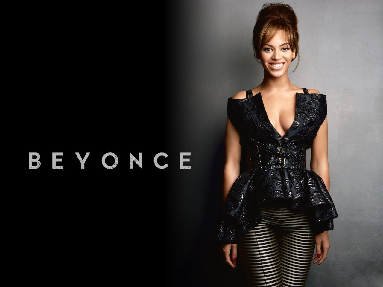 Beyonce Superpower Black and White HD desktop wallpaper 1440900