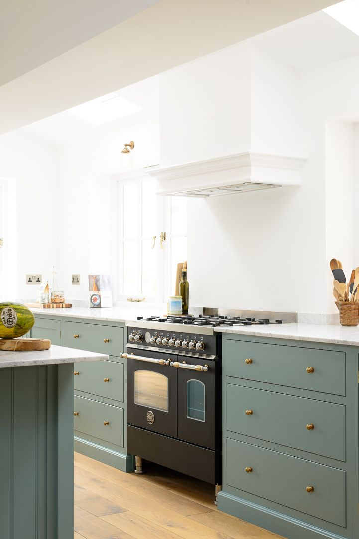 The Trinity Blue Kitchen was so simply styled; it contained nothing ...