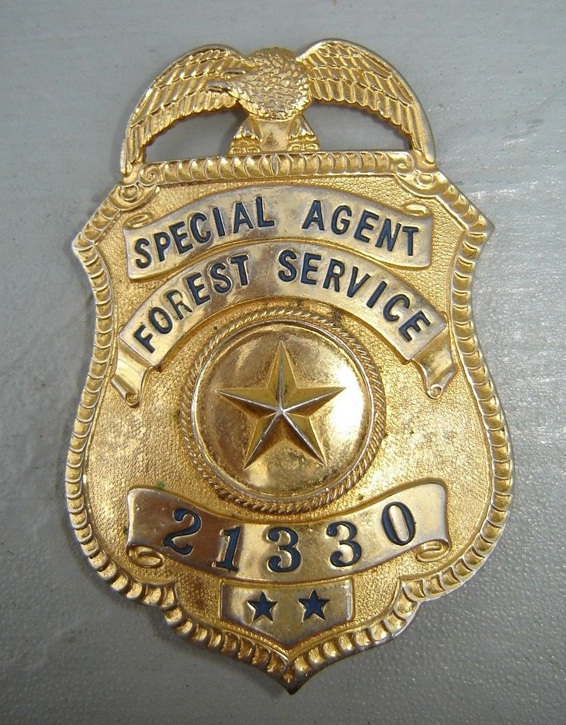 badge of a special agent of the criminal investigation division of