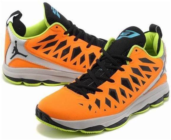 http://www.asneakers4u.com/ Jordan CP3.VIX Chris Paul Shoes Orange/Fluorescent Green