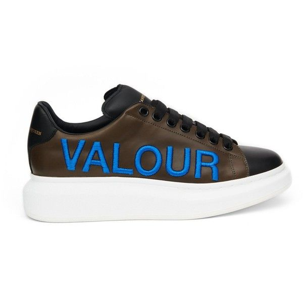 dcfa40ff70f Alexander McQueen Oversized Sneaker (€430) ❤ liked on Polyvore featuring  mens