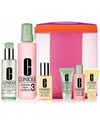 Clinique 3-Step Great Skin Home & Away Skin Type 3/4 - GIFTS