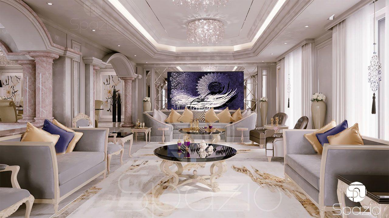 Arabic Majlis Interior Design In Dubai Uae 2020 Luxury House Interior Design Living Room Design Decor Luxury Homes Interior