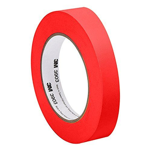 3m Red Vinyl Rubber Adhesive Duct Tape For Baseball Pitch Baseball Seams Ordered From Amazon Rubber Adhesive Sealing Tape Adhesive Tape