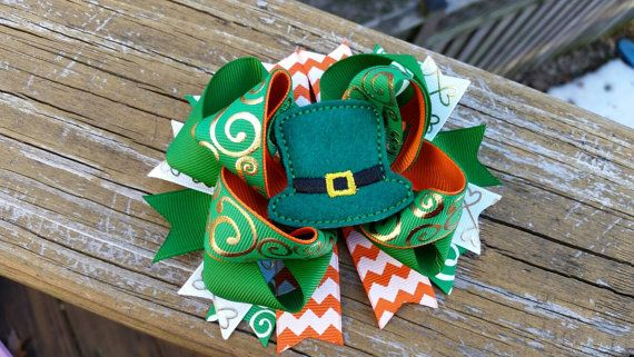 Check out this item in my Etsy shop https://www.etsy.com/listing/269105161/st-patricks-day-leprechaun-hat-boutique