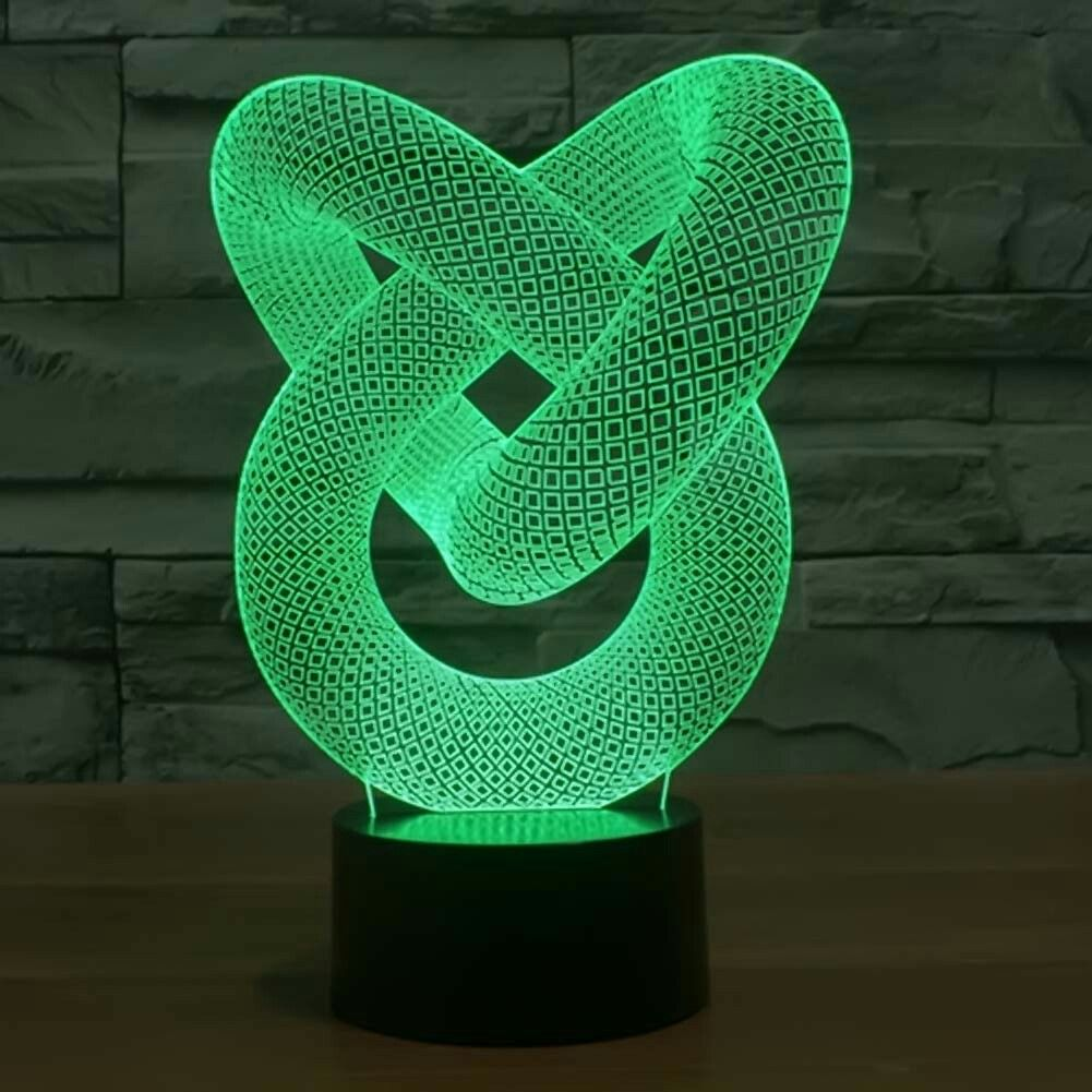 Led Light 3d Illusion Lamp 3d Led Night Light 3d Illusions
