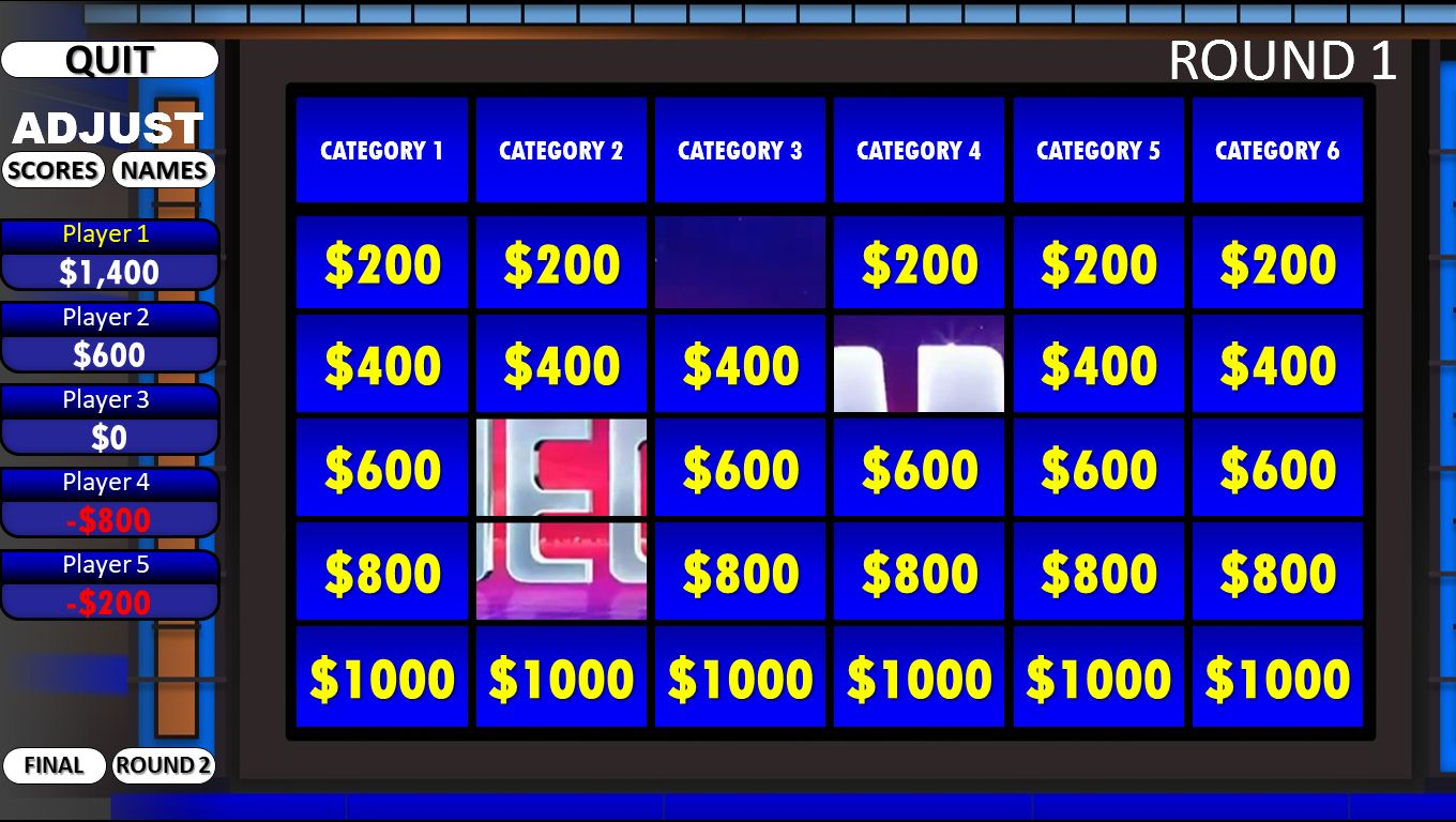 The Surprising Jeopardy Rusnak Creative Free Powerpoint Games