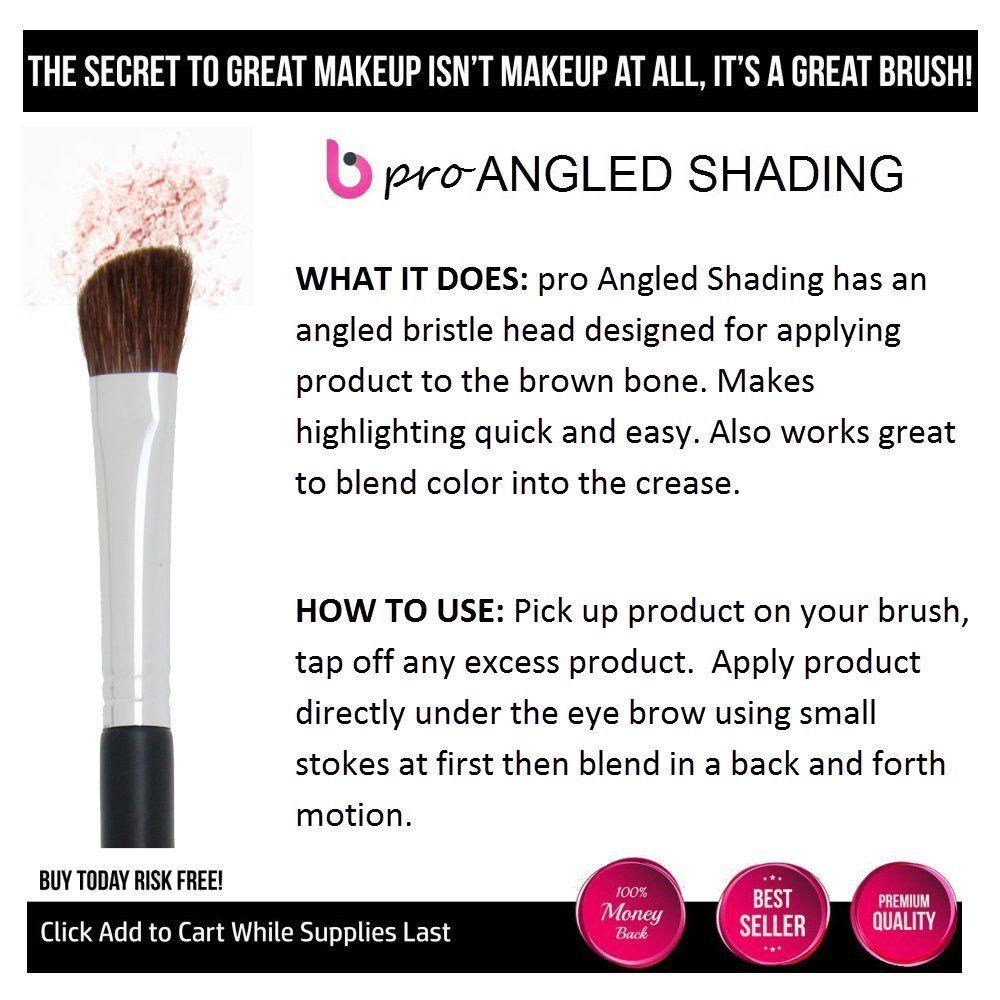 Eyeshadow Brush pro Angled Shading Eye Makeup Brush with