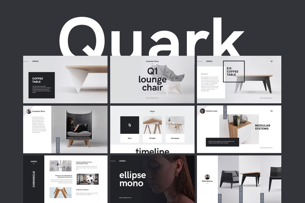 """Check out my @Behance project: """"Quark Keynote Presentation Template ..."""