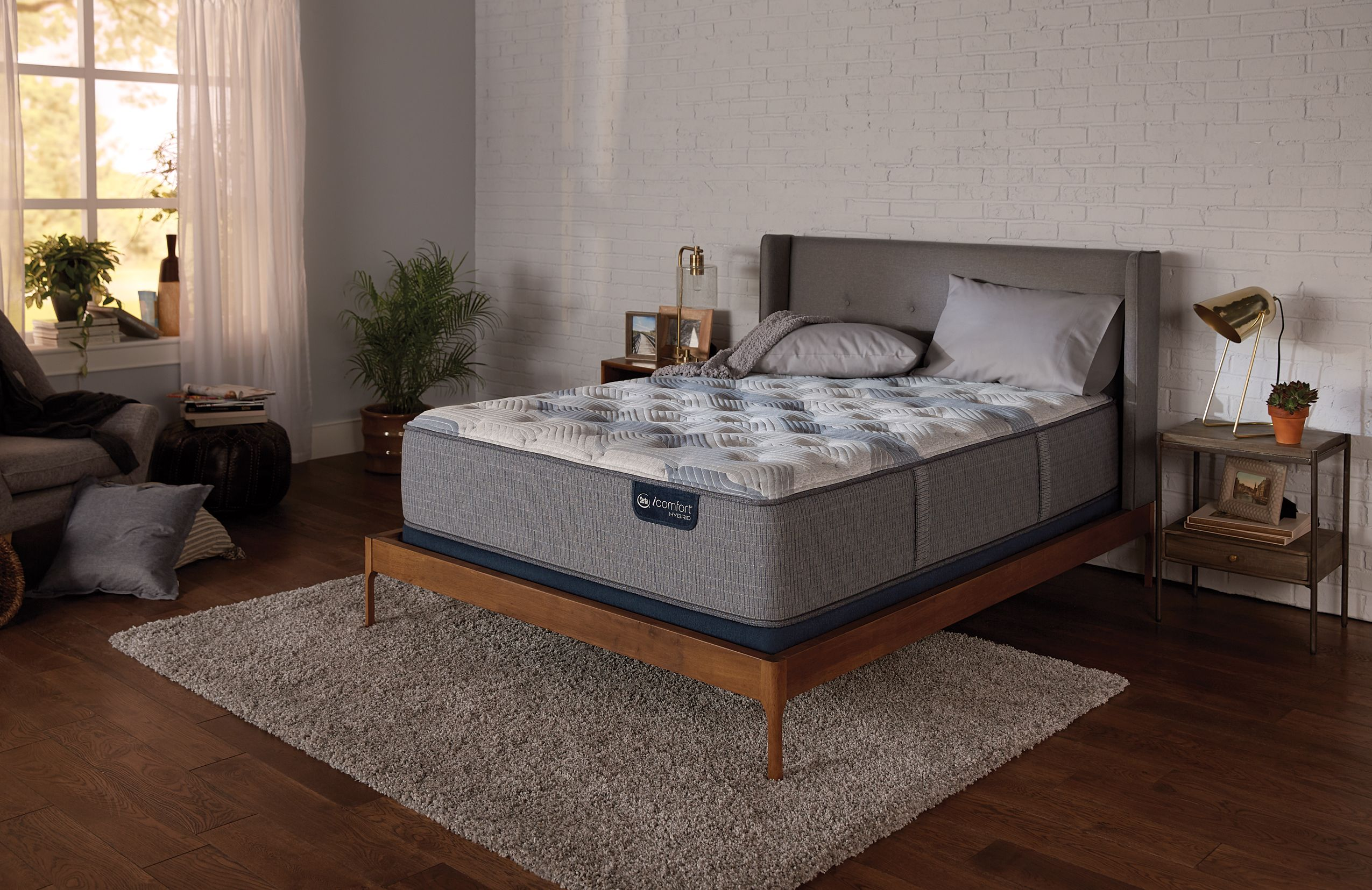 Serta Icomfort Blue Fusion 200 Plush Set Serta Mattress Plush