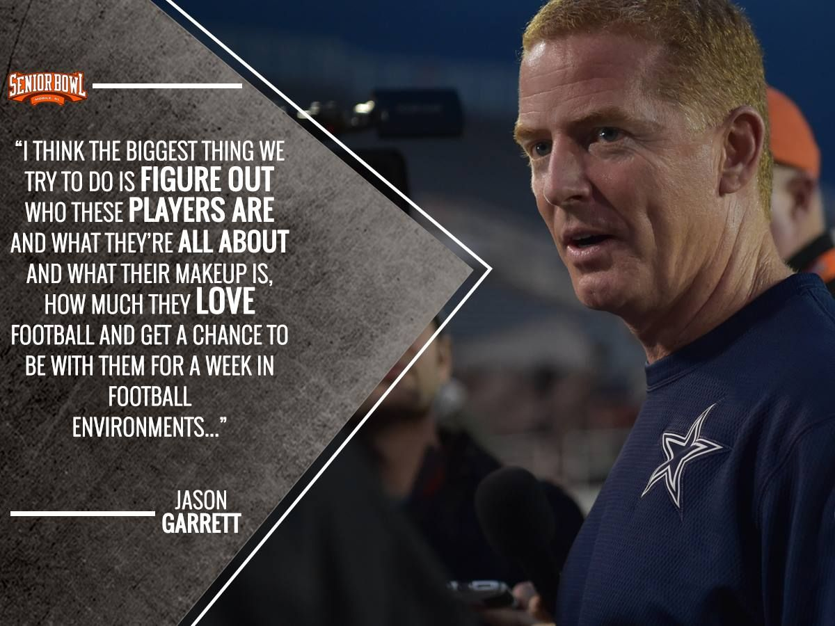 Coach Garrett addressing the benefits of coaching in the