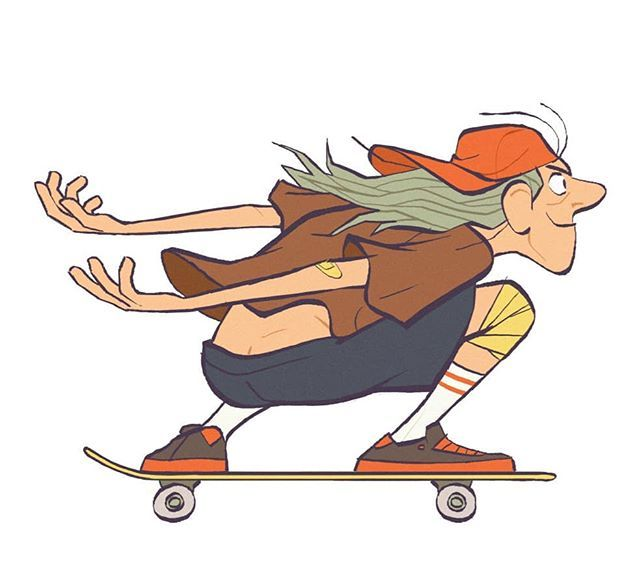Skater Boi Illustration Character Design Character Design