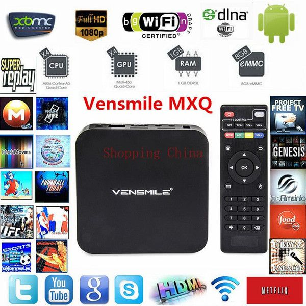 Best Android TV Box MXQ Amlogic S805 Smart Android 1GB RAM