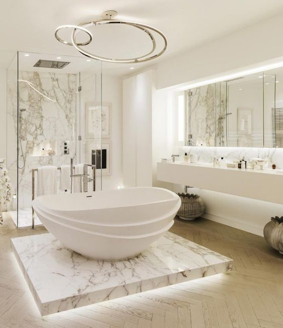 Photo of 10 extravagant bathrooms that are synonymous with luxury and elegance – decorations gram – my blog