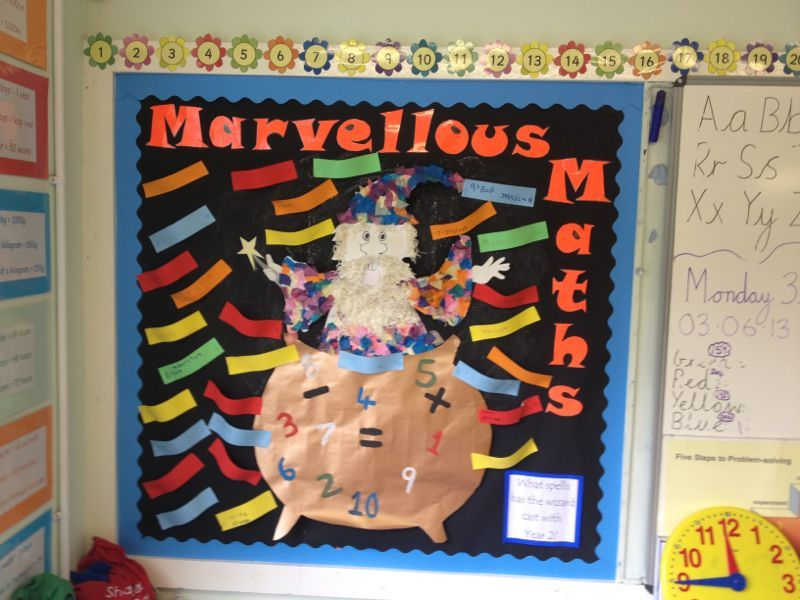 To inspire children at the start of the year, they created maths ...