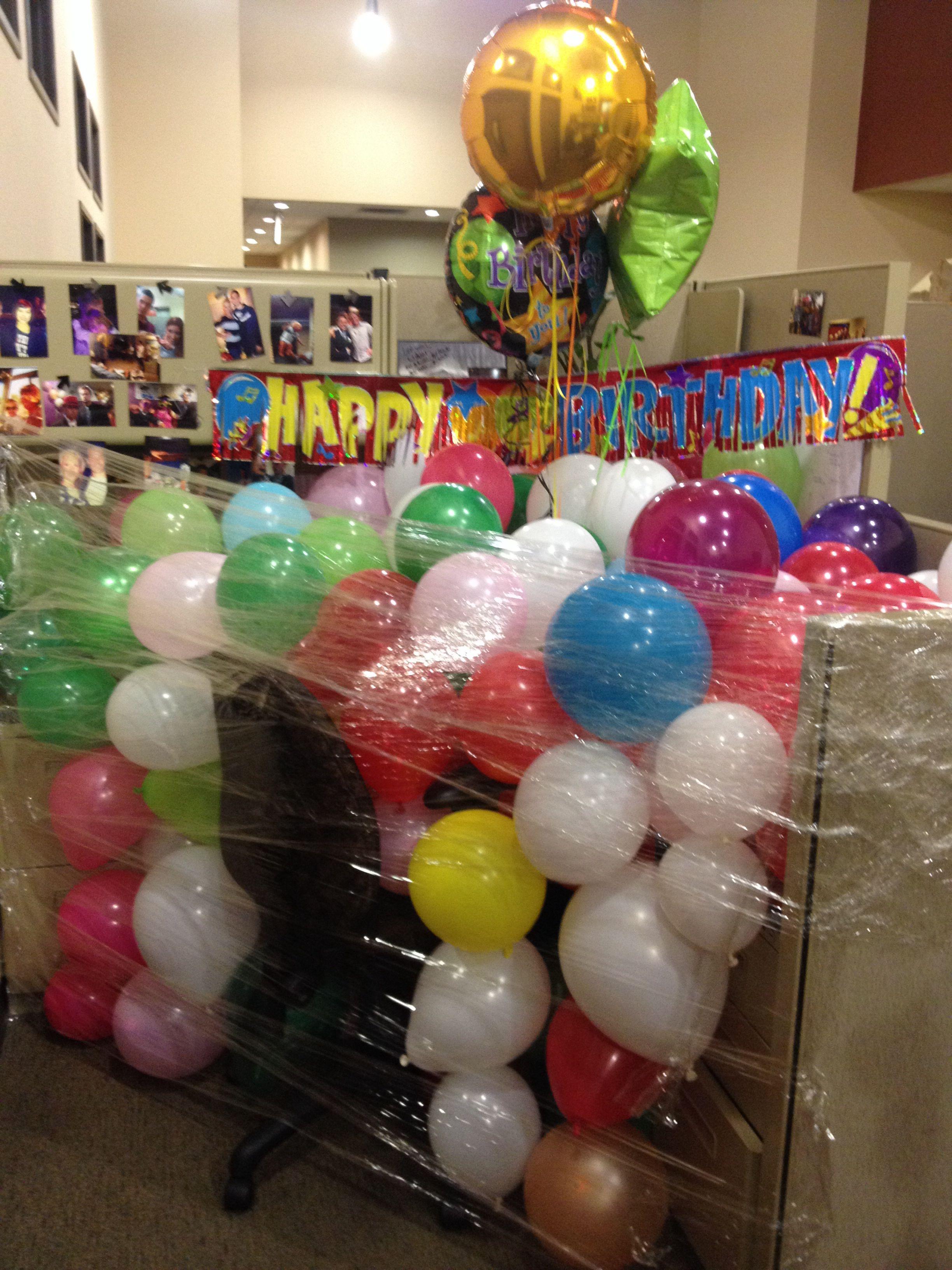 Happy birthday luke officepranks birthdaypranks
