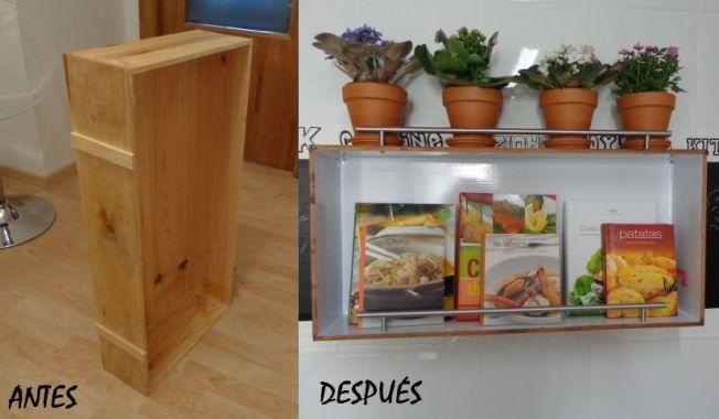 Otra fantástica idea para sacar provecho a nuestras cajas de madera