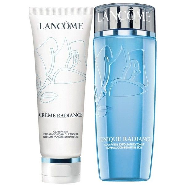 Women S Lancome Radiance Cleanser Toner Duo 36 Liked On Polyvore Featuring Beauty Pro Cleanser And Toner Skin Care Toner Products Skin Cleanser Products