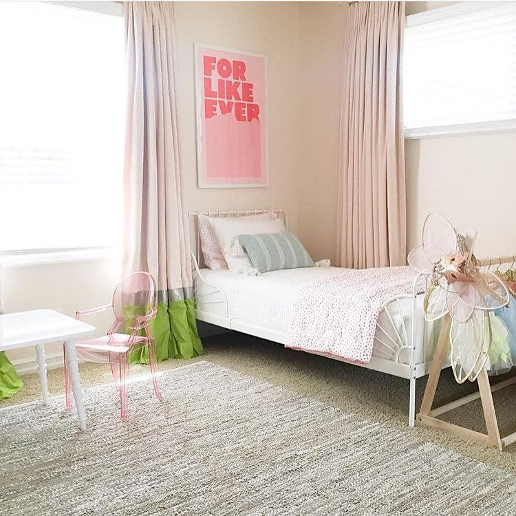 Sweet little girl's room for you tonight, reposted from @luvmylilmila. 👌🏼