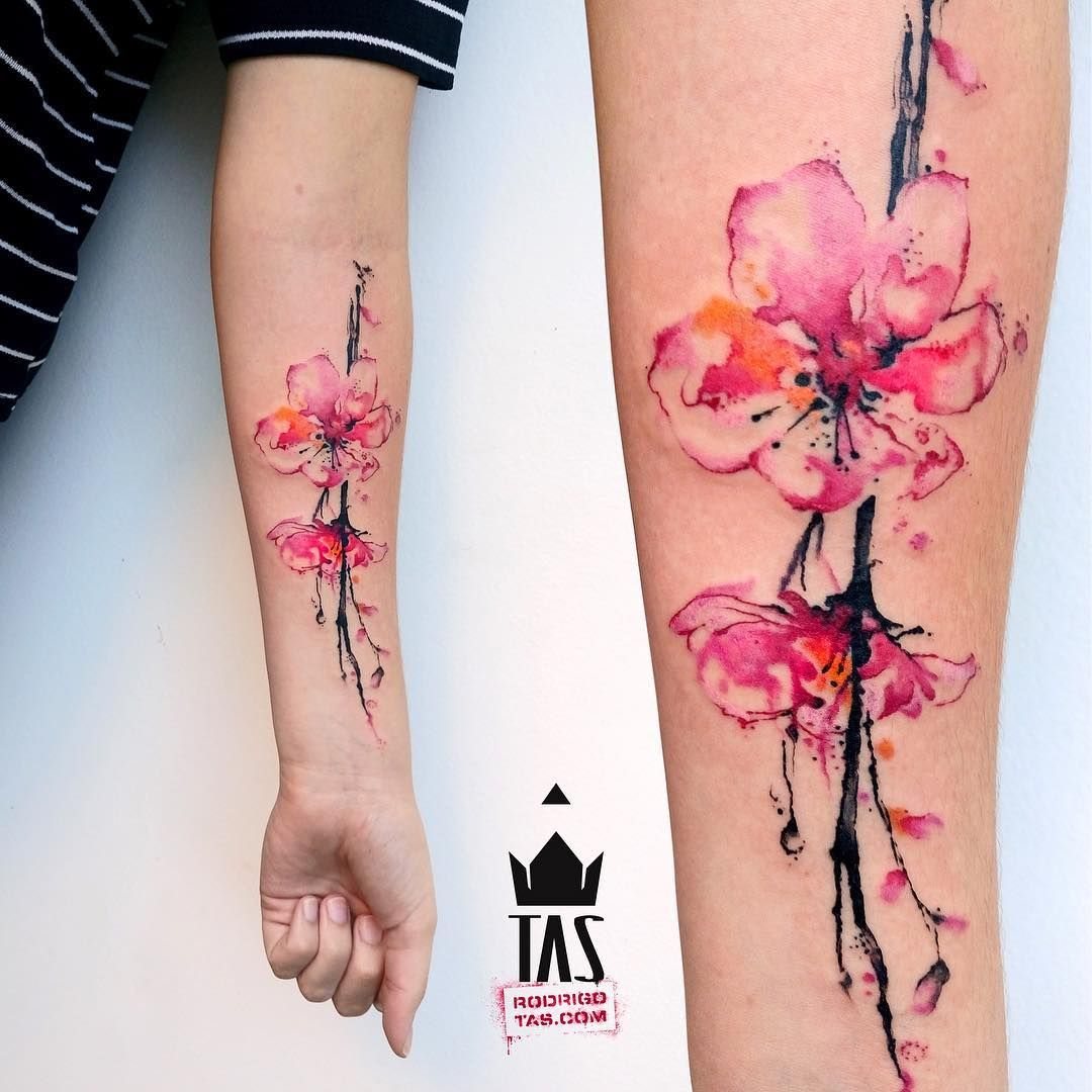 The 50 Best Cherry Blossom Tattoos Ever Inked Tattoos On Women