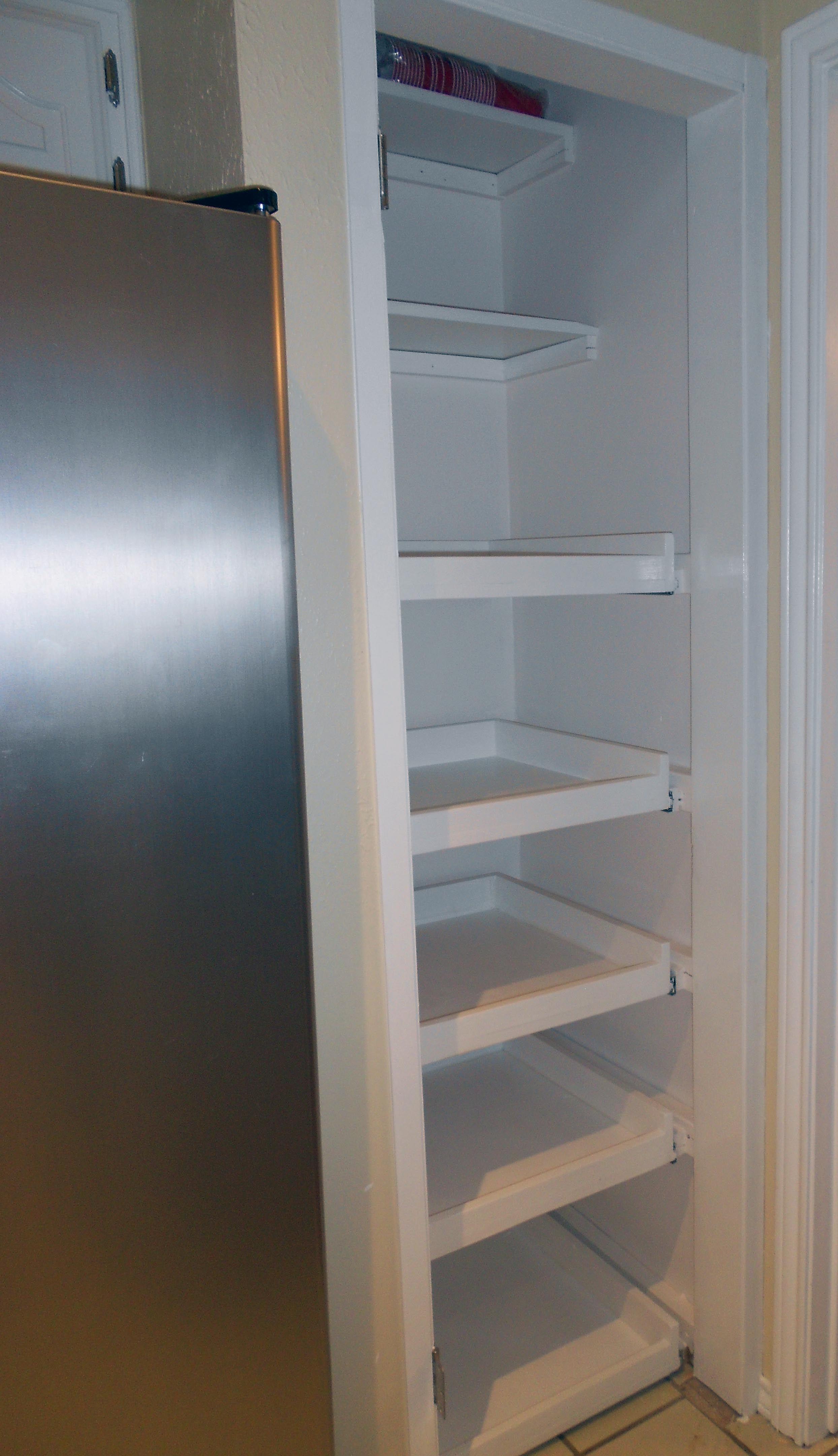 Extended shelf life pantry redo shelves diy pull out
