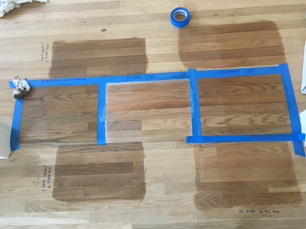 Re Constructing Home Part 30 Driftwood Pickled Oak Weathered Oak Stain Red Oak Hardwood Oak Floor Stains