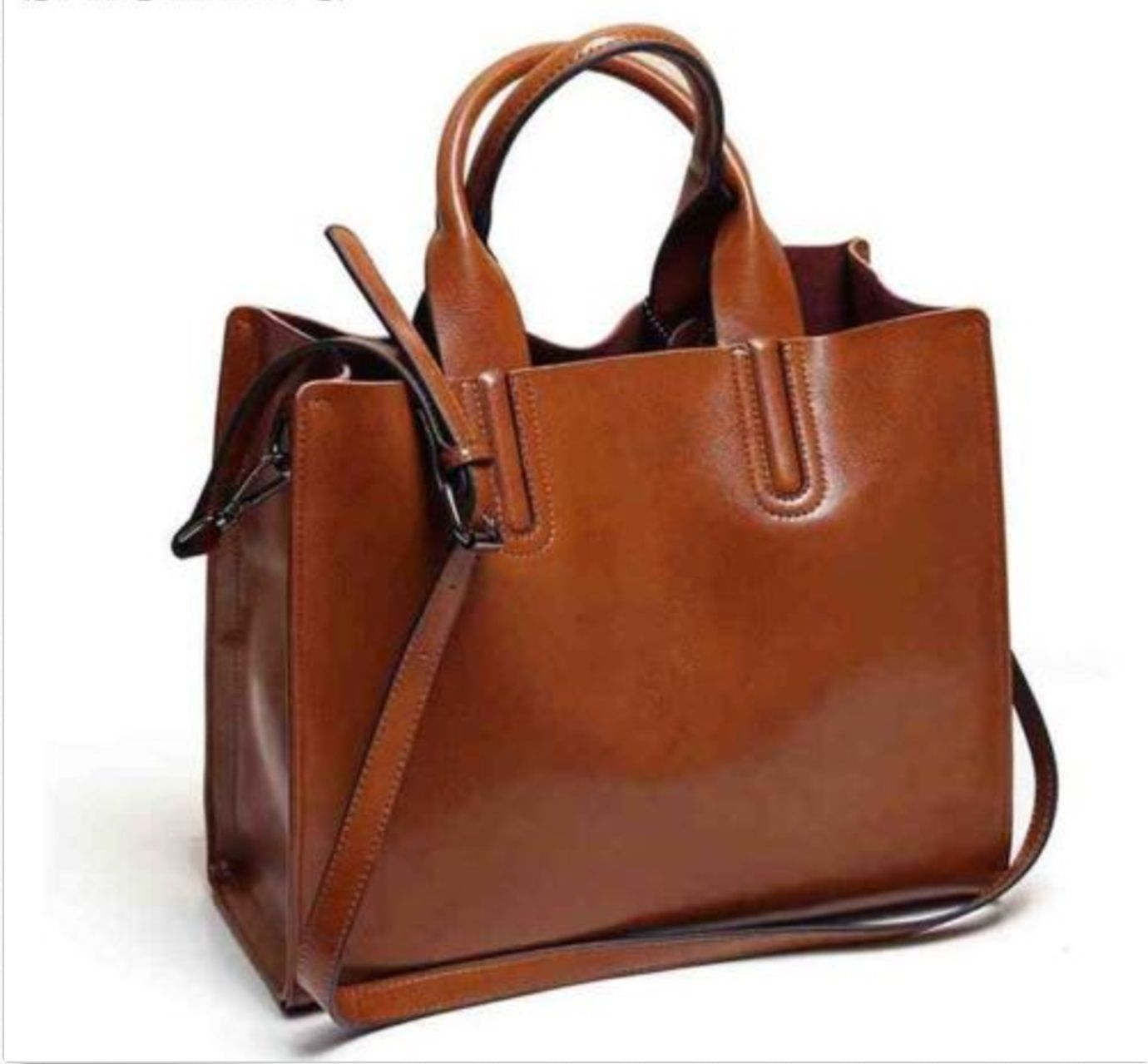 details about leather tote bag handbags women best casual bags