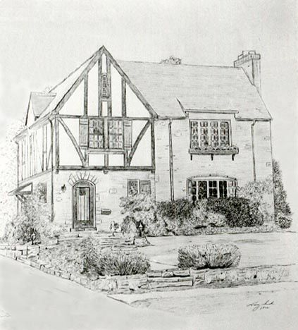 Architecture Drawing Pencil