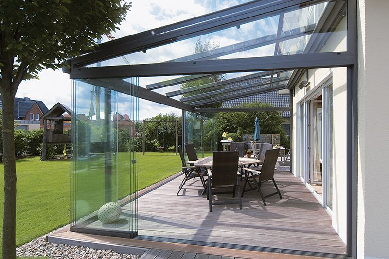 Glass Rooms, beautiful house extensions ideas in 2019 ... on Backyard Patio Extension Ideas id=37837