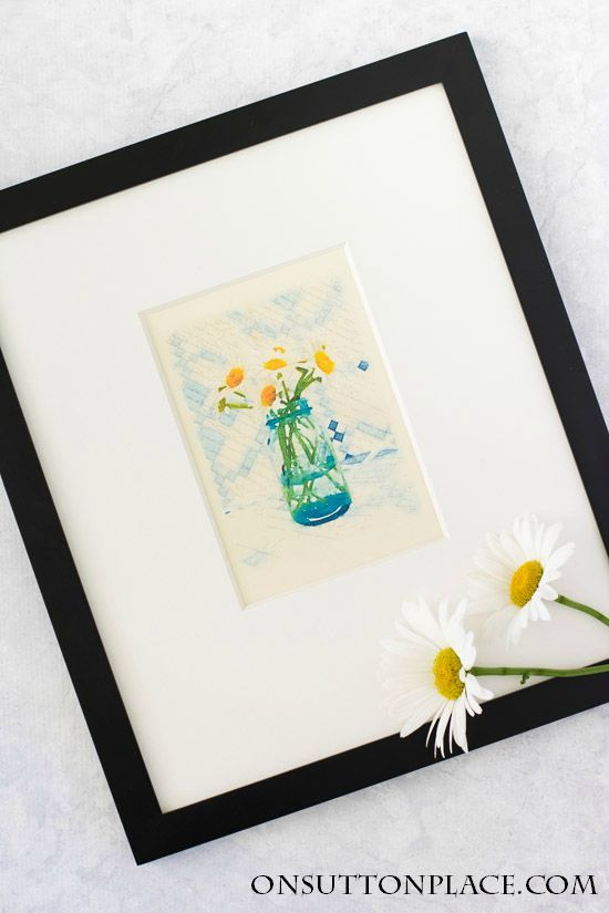 Summer Flower Watercolor Printables | Use for DIY wall art, cards, crafts, screensavers and more! It's free and super easy to download and print from home.