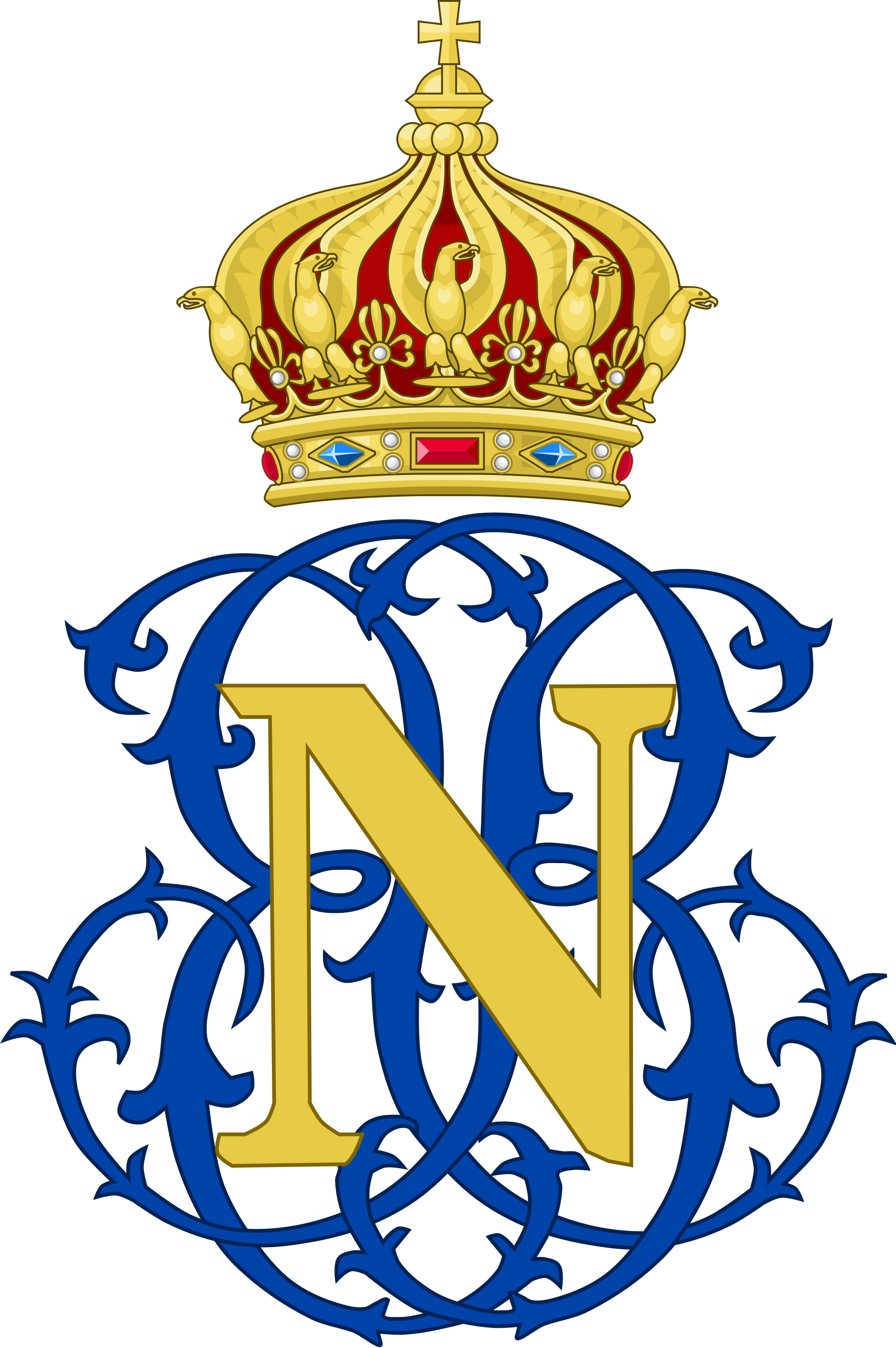 Napoleon prince imperial of france royal monograms pinterest napoleon prince imperial of france biocorpaavc