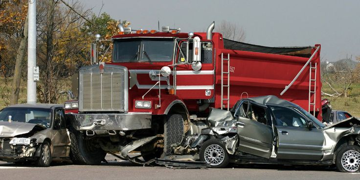 Truck accidents Trucks, Large truck, Injury lawyer