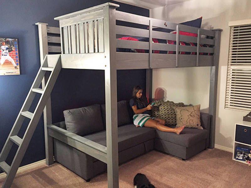 Ryobi Nation 6 Diy Bedroom Builds Diy Loft Bed Loft Bed Plans