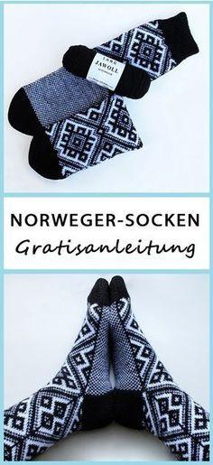Photo of Strickanleitung: Norweger-Socken | maschentext.de