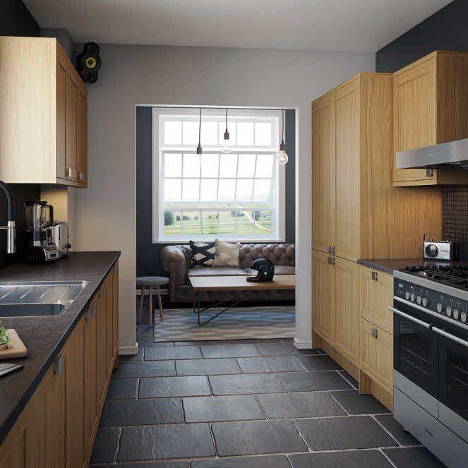 Fitted Kitchen Interior Designs Ideas Kitchen Cabinet: Hudson Oak Fitted Kitchen By Magnet. #oakkitchen