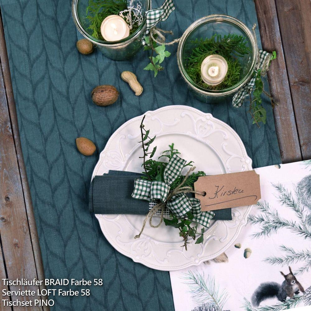tischl ufer braid in blaugr n von sander table and home sander tischw weihnachten. Black Bedroom Furniture Sets. Home Design Ideas