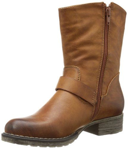Discount Simple Rieker Classic ankle boots cayenne