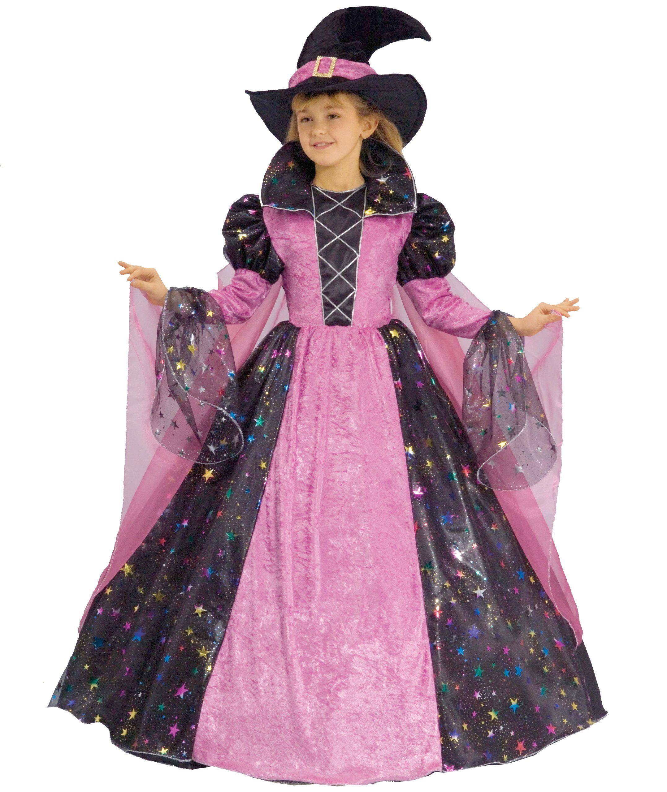 Dress Up America Bruja deluxe, disfraz talla L, 1214
