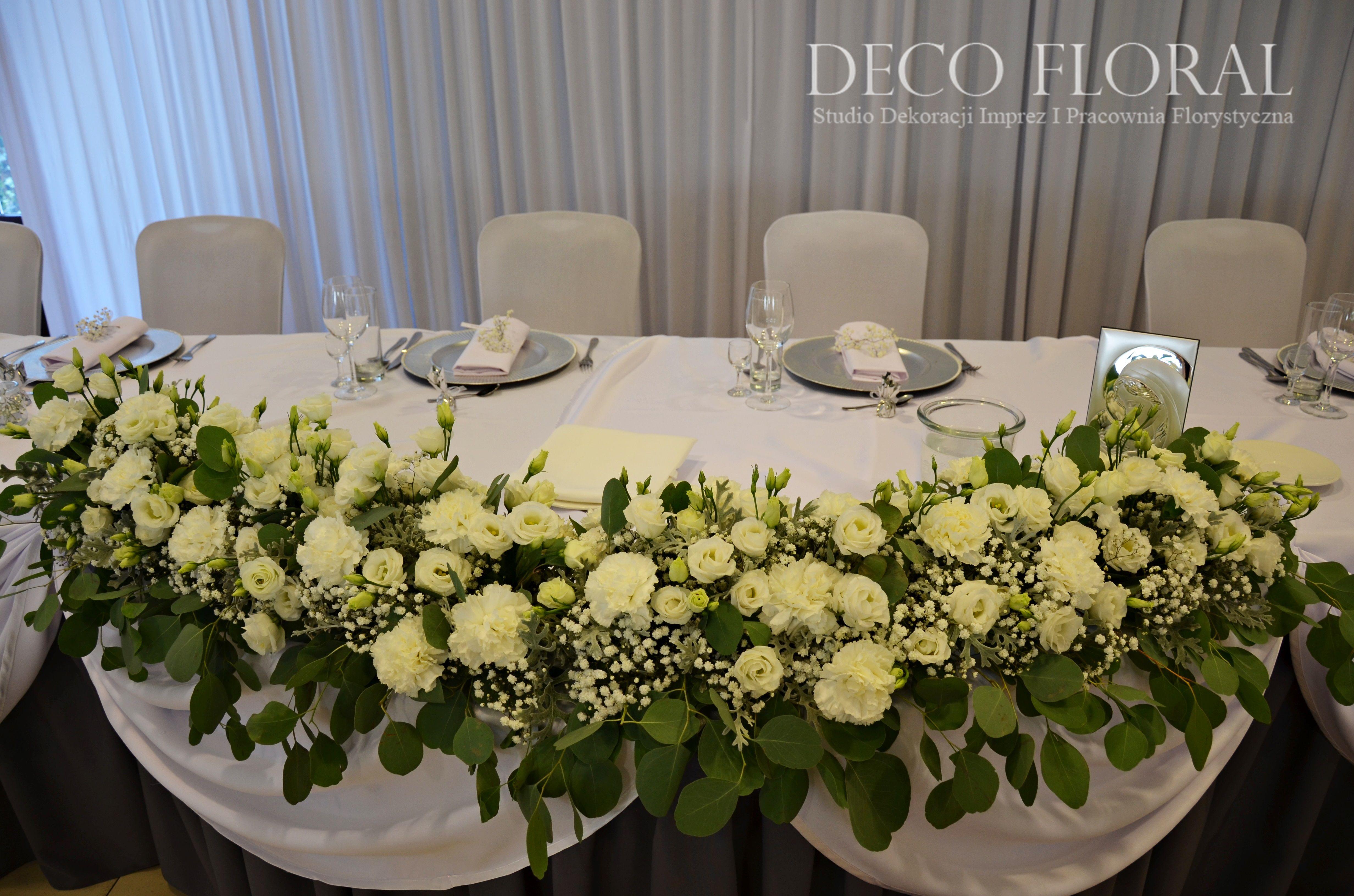 Dekoracja Sali Weselnej Gipsowka Wedding Gyps Table Settings Table Decorations Decor