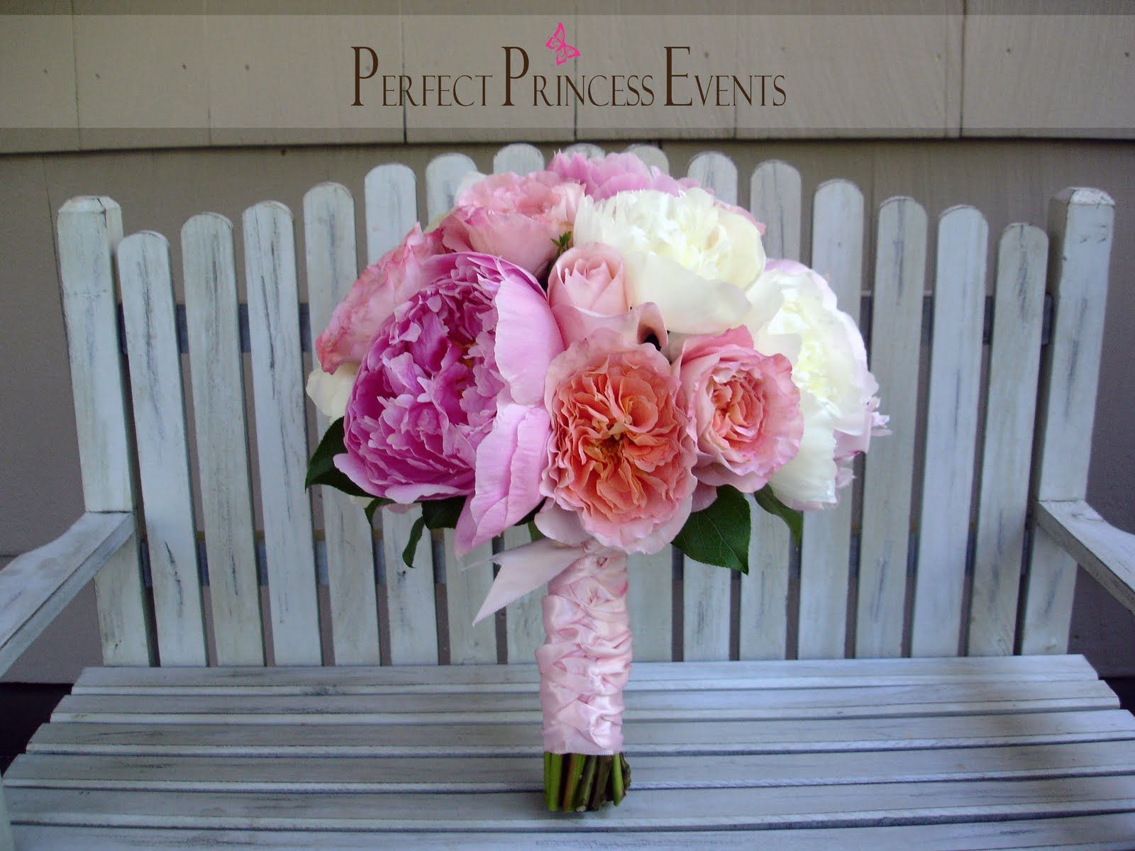 Amanda and Brett\'s wedding   Perfect Princess Events   Flowers ...