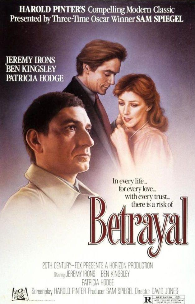 Betrayal 1983 Jeremy Irons Dvd Betrayal Ben Kingsley Husband Best Friend