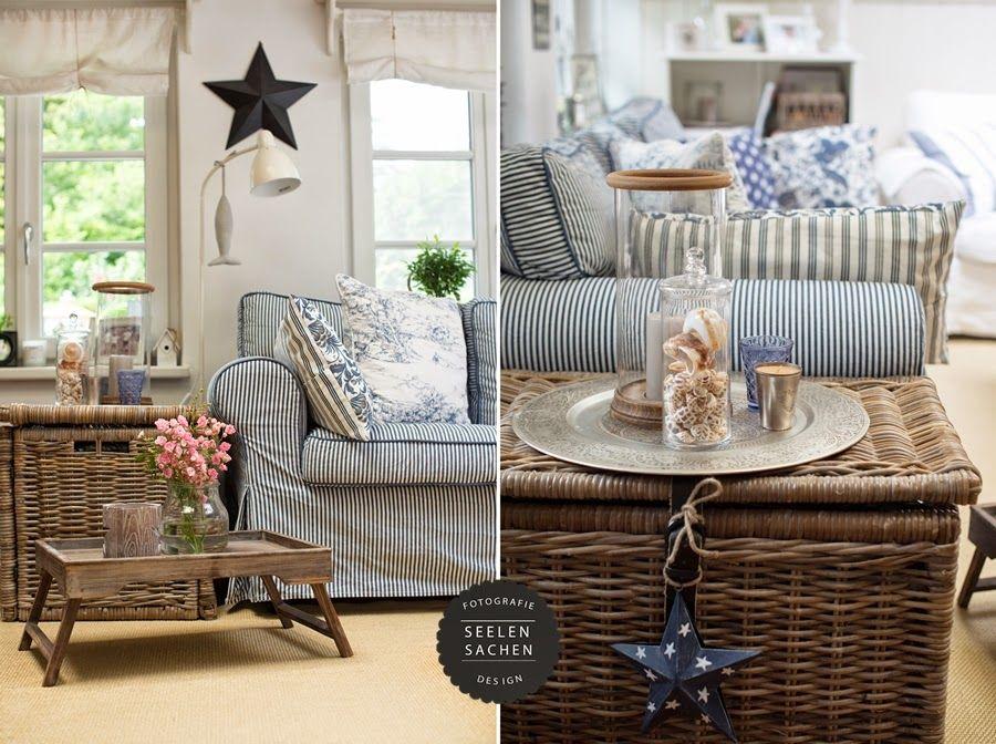 Maritimes Wohnzimmer | Istedigim | Pinterest | Seelensachen