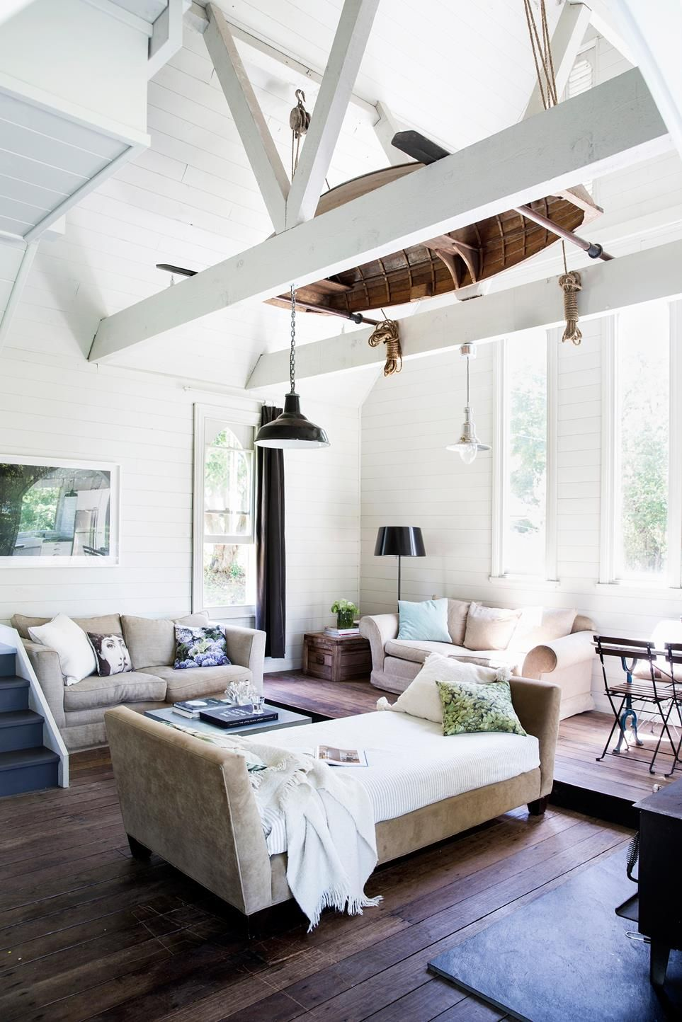 19th Century Drawing Room: A Converted 19th Century Church On The Hawksberry River