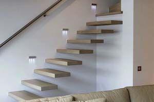 ledverlichting voor in de muur trap doorloop gang pad zuinig kan ...