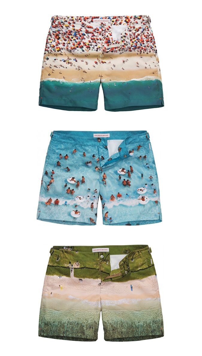 Orlebar Brown x Gray Malin Digi-Print Swim Shorts