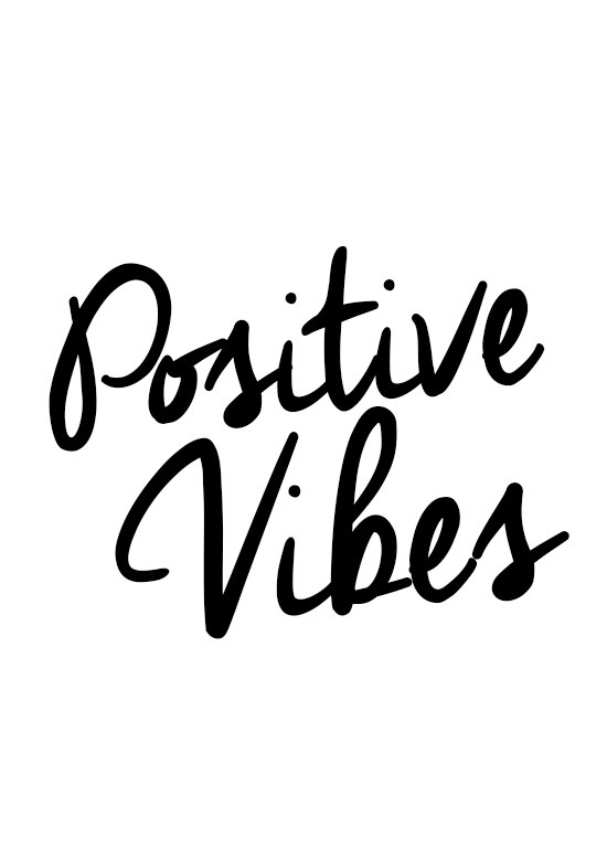 Positive Quotes, Wall Art, Positive Vibes, Good Vibes Only