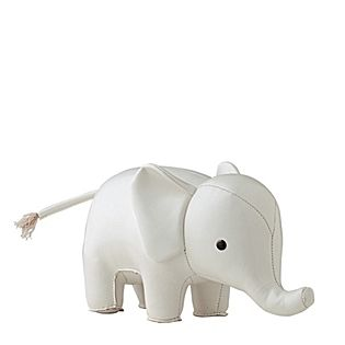 i'm in love with these menagerie elephant bookends for playrooms ... - Arredamento White Elephant
