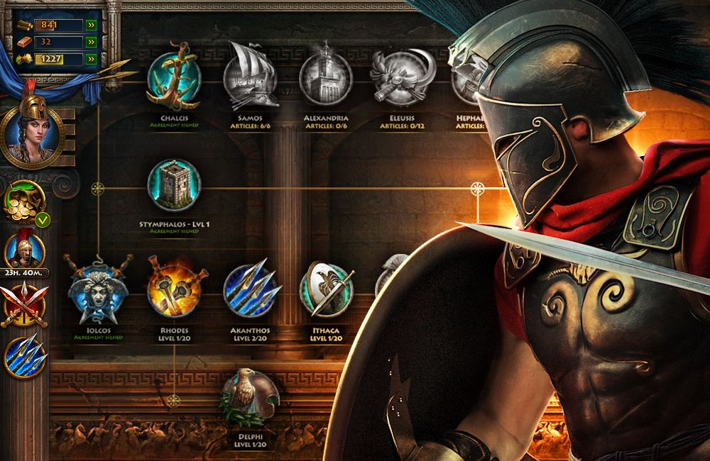 Sparta War of Empires OFFICIAL Game Page