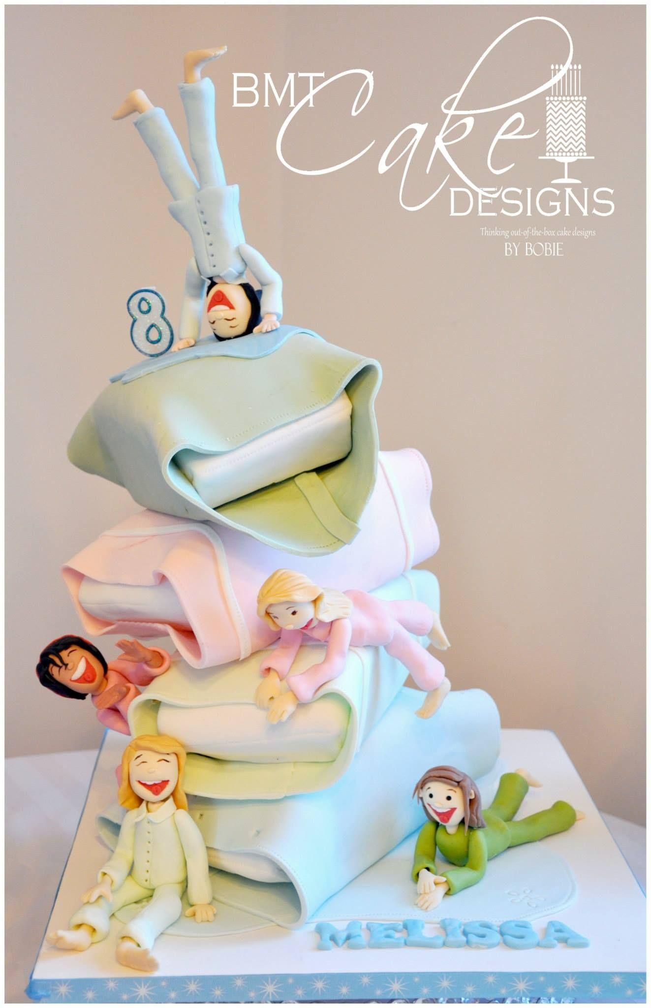 Astonishing Out Of The Box Cake Design Slaapfeest Taart Geweldige Taarten Funny Birthday Cards Online Inifodamsfinfo