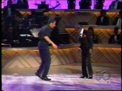 I love this so much, two magical forces. Gregory Hines vs. Sammy Davis, Jr.